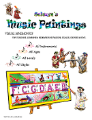 Selwyn's Music Paintings Complete w Coloring Bk Download 150 pgs